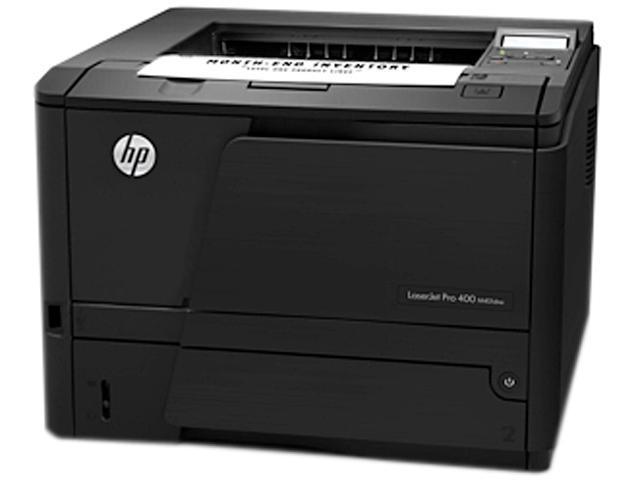 HP LaserJet Pro 400 M401dne Mono Laser Printer (TAA) (35 ppm) (800 MHz) (256 MB) (8.5? x 14?) (1