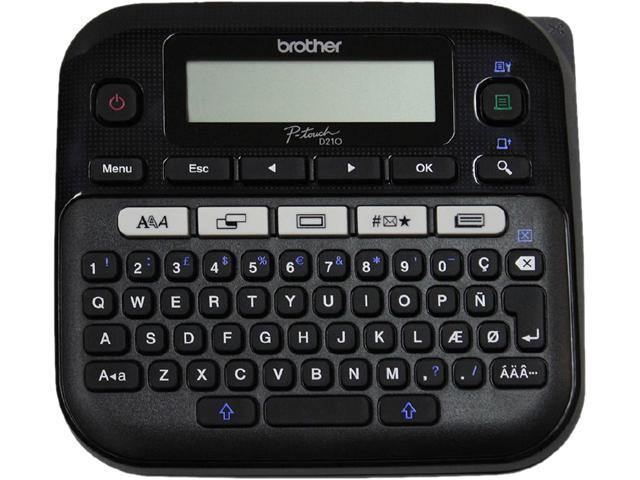 Brother PTD210BK Easy-to-Use Label Maker