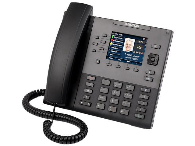 Aastra - 80C00002AAA-A - 6867i - 9-Line SIP Desktop Phone with 3.5 QVGA Color Display - Does Not Include Power Supply