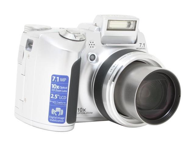 OLYMPUS SP-510 UZ Silver 7.1 MP 10X Optical Zoom Digital Camera