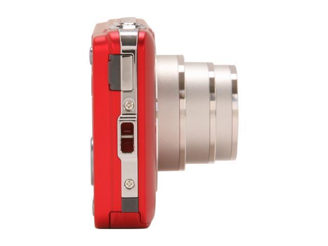 OLYMPUS VG-120 Red 14.0 MP 5X Optical Zoom Digital Camera