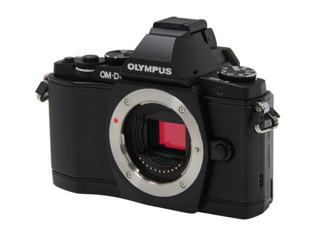 OLYMPUS OM-D E-M5 Black 16.1 MP Live MOS Interchangeable Lens Camera with 3
