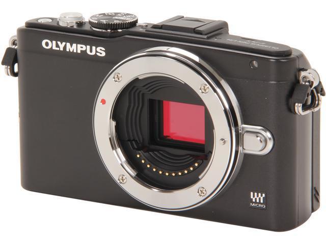 OLYMPUS E-PL5 (V205040BU000) Black Micro Four Thirds interchangeable lens system camera - Body