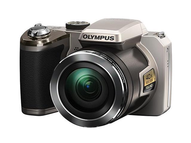 OLYMPUS SP-820UZ iHS Black 14 MP 40X Optical Zoom Digital Camera HDTV Output