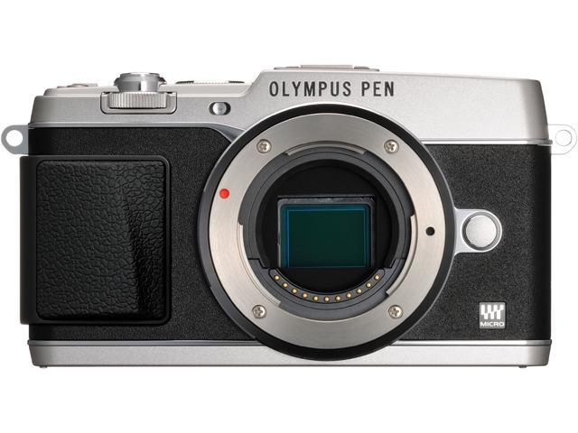 OLYMPUS PEN E-P5 V204050SU000 Silver Micro Four Thirds interchangeable lens system camera - Body