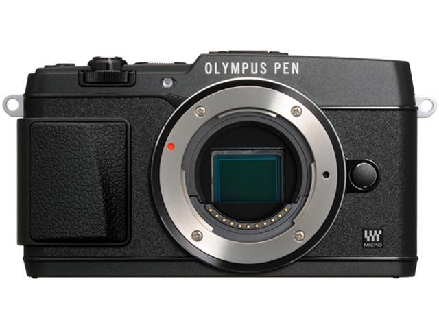 OLYMPUS PEN E-P5 V204050BU000 Black Micro Four Thirds interchangeable lens system camera - Body