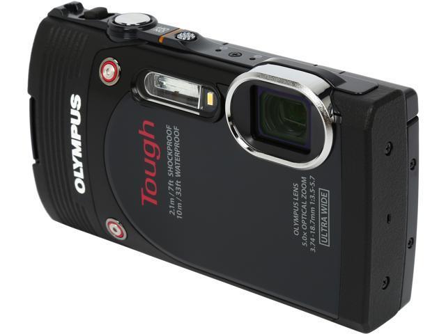 OLYMPUS Stylus TOUGH TG-850 V104150BU000 Black 16MP 3.0