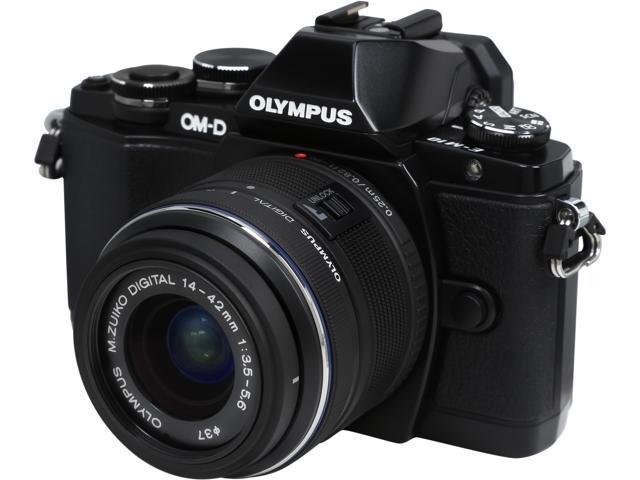 OLYMPUS OM-D E-M10 V207021BU000 Black 16.1MP 3.0
