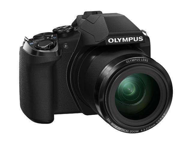 OLYMPUS Stylus SP-100 16 MP 50X Optical Zoom 24mm Wide Angle Digital Camera HDTV Output