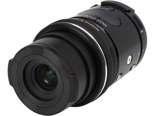 OLYMPUS AIR A01 V208011BU000 Black 16.05 MP Mirrorless Micro Four Thirds Lens-Style Digital Camera with 14-42mm EZ Lens