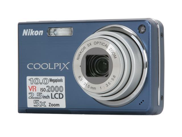 Nikon COOLPIX L5 Silver 7.2 MP 5X Optical Zoom Digital Camera