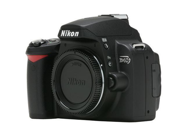 Nikon D40x Black Digital SLR Camera - Body Only