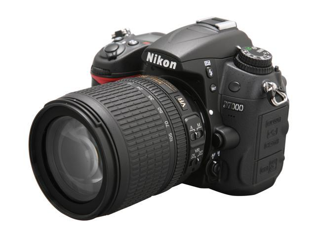 Nikon D7000 Black Digital SLR Camera w/18-105mm lens