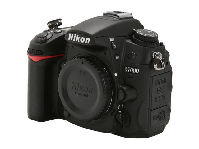 Nikon D7000 16.2MP DX-Format CMOS Digital SLR Camera - Body Only