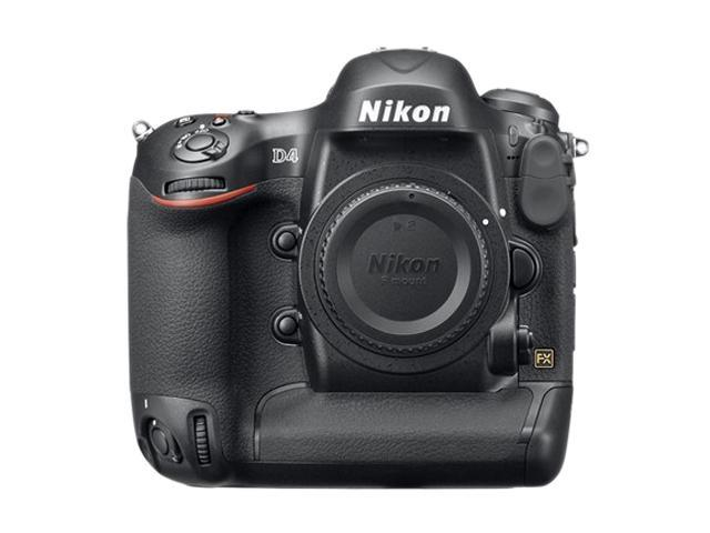 Nikon D4 (25482) Black Digital SLR Camera - Body Only