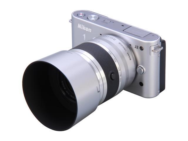 Nikon 1 J2 (27586) Silver 10.1 MP 3.0