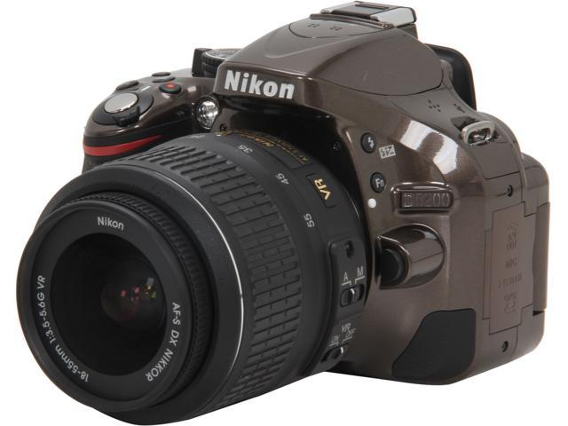 Nikon D5200 1511 Bronze 24.1 MP Digital SLR Camera with 18-55mm VR Lens Kit
