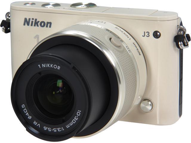 Nikon 1 J3 27641 Beige 14.2MP 3.0