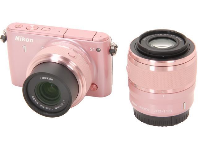Nikon 1 S1 27630 Pink 10.1MP 3.0