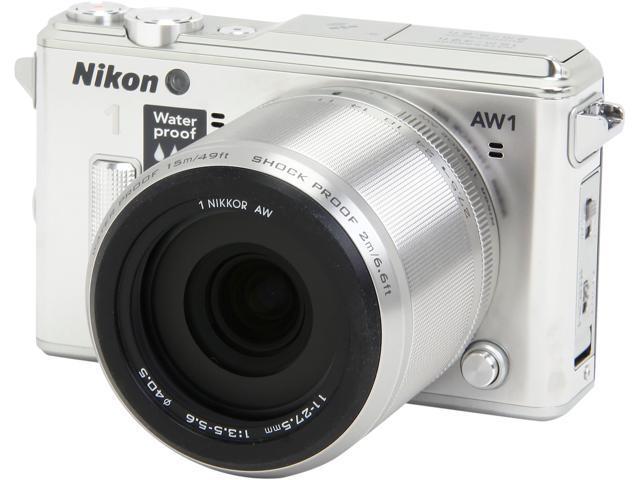 Nikon 1 AW1 27666 Silver 14.2 MP 3.0