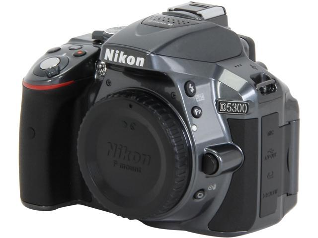 Nikon D5300 1521 Gray Digital SLR Camera - Body