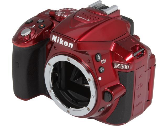 Nikon D5300 1520 Red Digital SLR Camera - Body