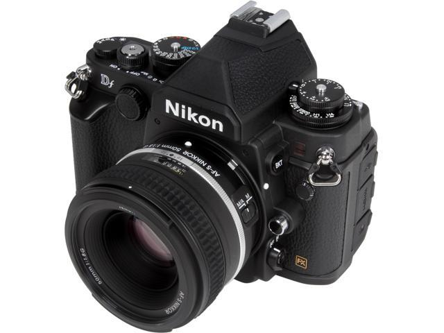 Nikon Df 1527 Black 16.2 MP Digital SLR Camera with 50mm f/1.8 Lens