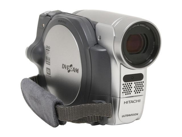 "HITACHI DZ-GX5020A 1/6"" CCD 2.7"" 16:9 Widescreen LCD 30X Optical Zoom DVD Camcorder"