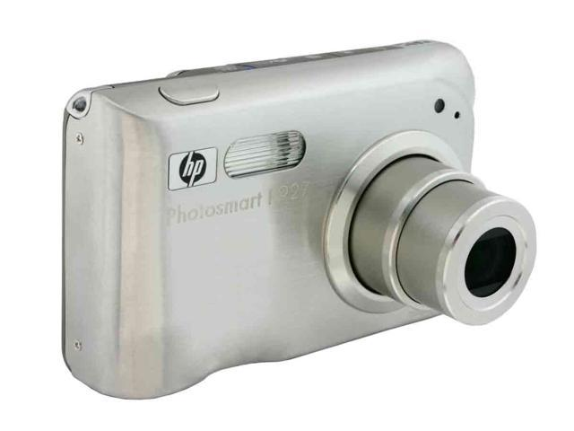 HP R927 Silver 8.2 MP 3X Optical Zoom Digital Camera
