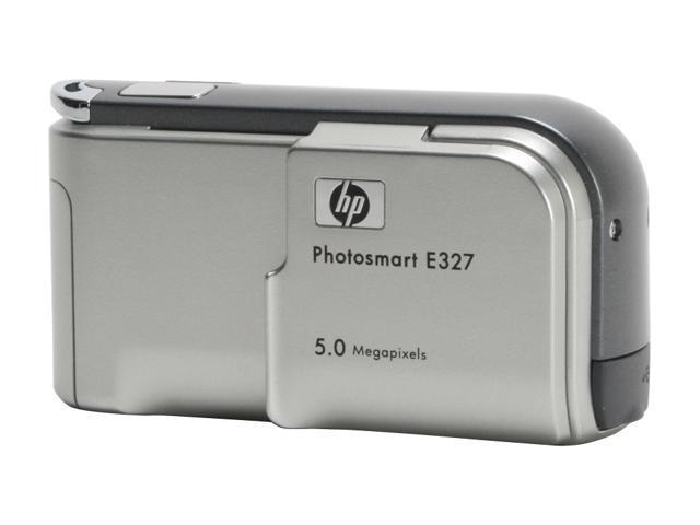 HP Photosmart E327 Silver 5.0 MP Digital Camera