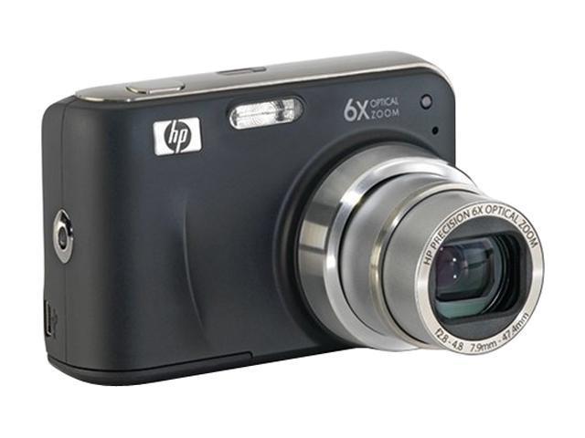 HP Photosmart Mz60 Black 8.0 MP 6X Optical Zoom Digital Camera
