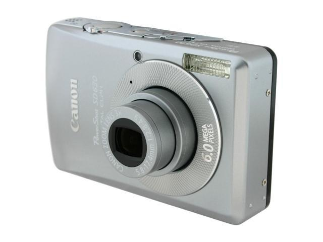 Canon PowerShot SD630 Silver 6.0 MP 3X Optical Zoom Digital Camera