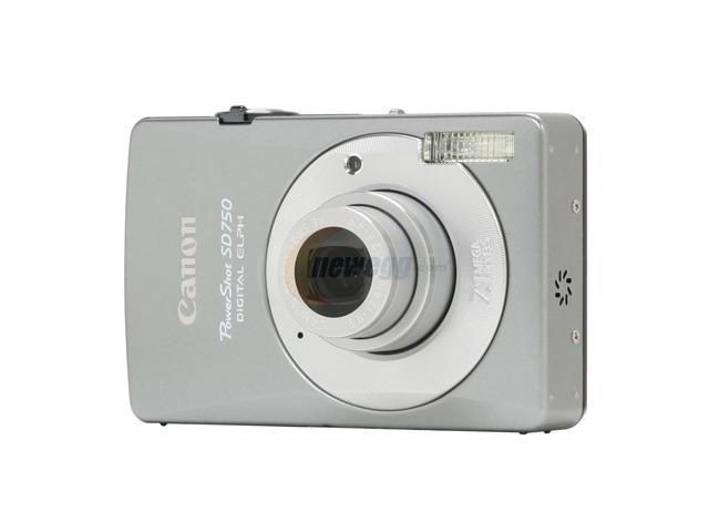 Canon PowerShot SD750 Silver 7.1 MP 3X Optical Zoom Digital Camera