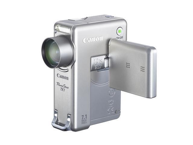 Canon PowerShot TX1 Silver 7.1 MP 10X Optical Zoom Digital Camera