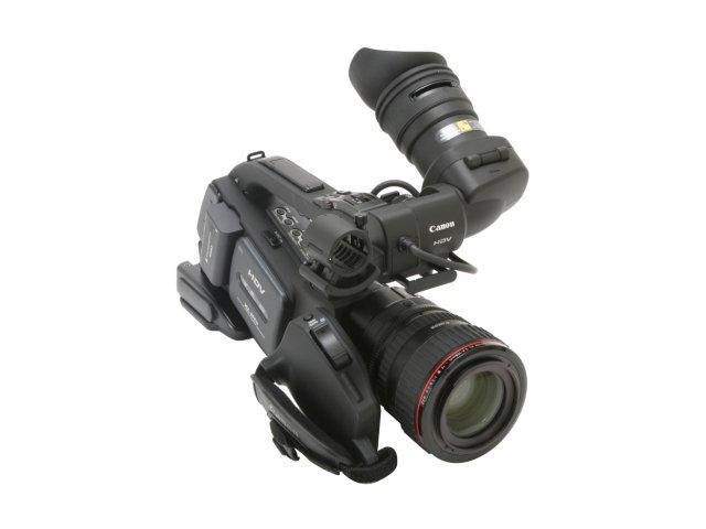 "Canon XL H1A Black 1/3"" 3CCD High Definition Professional Camcorder w/ Canon 20x HD Video Zoom XL 5.4-108 mm L IS lll"