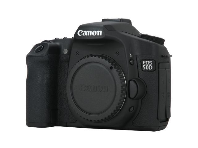 Canon EOS 50D Black 15.1 MP Digital SLR Camera - Body Only