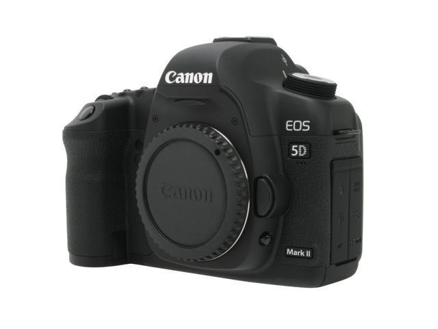 Canon EOS 5D Mark II Black 21.1 MP Full HD Movie Digital SLR Camera - Body Only