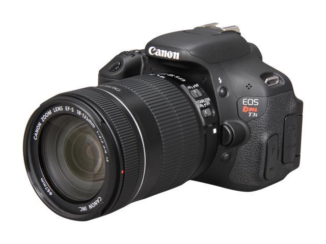 Canon EOS REBEL T3i 5169B005 Black 18.0 MP DSLR