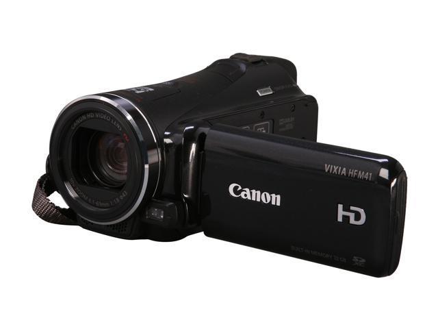 Canon VIXIA HF M41 (5116B020AA) Black High Definition Flash Memory Camcorder