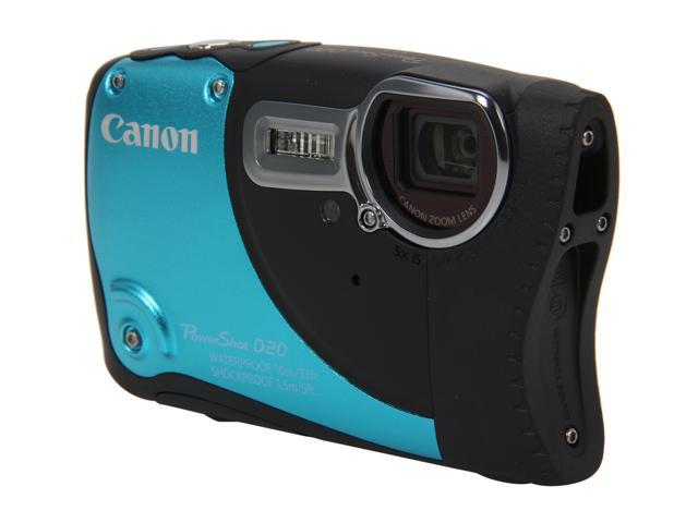 Canon PowerShot D20 6145B001 Blue 12.1 MP 3.0