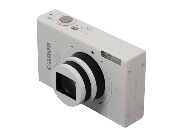 Canon PowerShot ELPH 530 HS White 10.1 MP 12X Optical Zoom 28mm Wide Angle Digital Camera