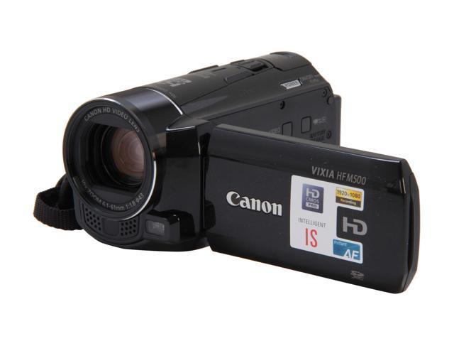 Canon VIXIA HF M500 (6096B001) Black 1/3