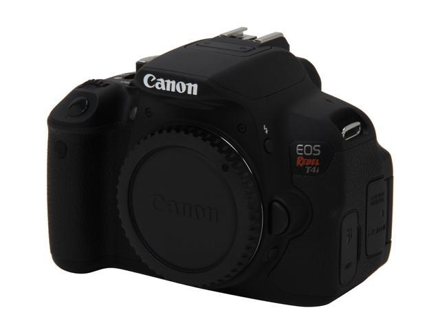 Canon Rebel T4i (6558B001) Black Digital SLR Camera
