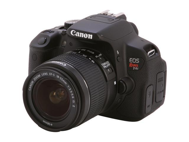 Canon EOS T4i 18.0 MP CMOS Digital SLR with 18-55mm EF-S IS II Lens