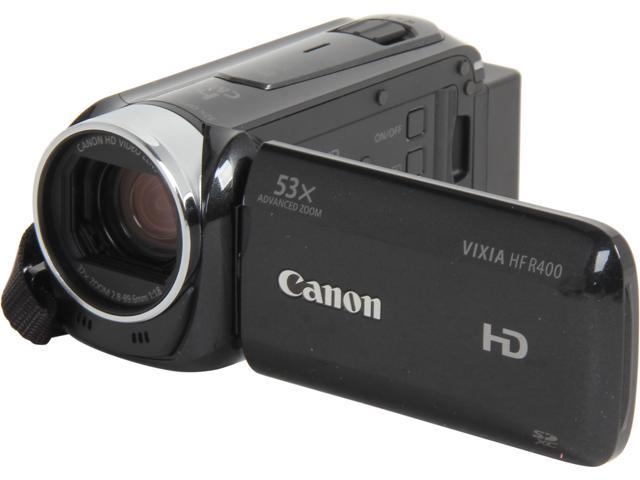 Canon VIXIA HF R400 (8155B004) Black High Definition Camcorder