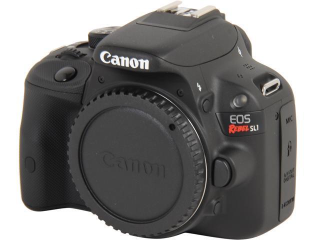 Canon Rebel SL1 8575B001 Black Digital SLR Camera - Body Only