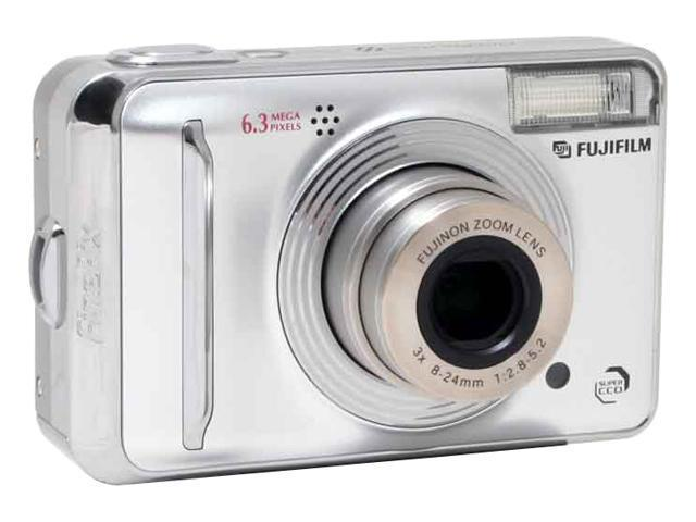 FUJIFILM FinePix A600 Silver 6.0 MP 3X Optical Zoom Digital Camera