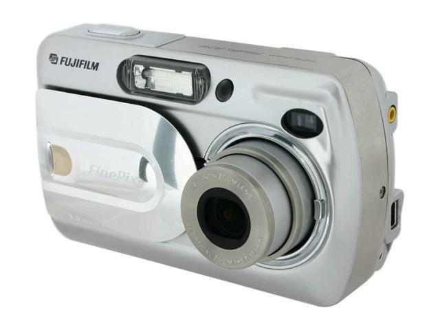 FUJIFILM FinePix A340 Silver 4.0 MP 3X Optical Zoom Digital Camera