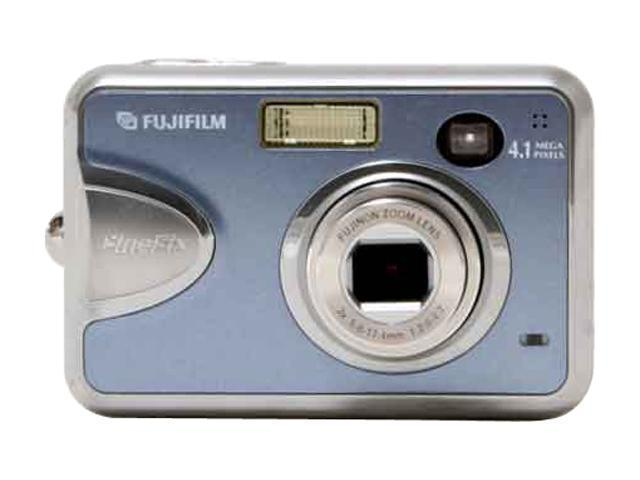 FUJIFILM A360 Silver 4.1 MP 3X Optical Zoom Digital Camera