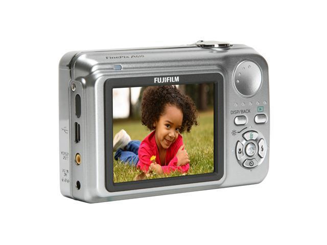 FUJIFILM FinePix A610 Silver 6.3 MP 3X Optical Zoom Digital Camera